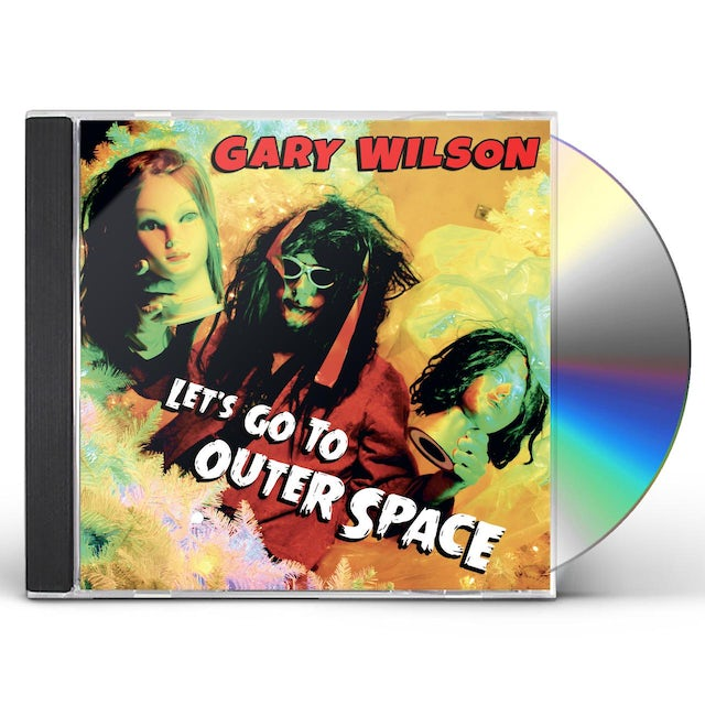 Gary Wilson LET'S GO TO OUTER SPACE CD