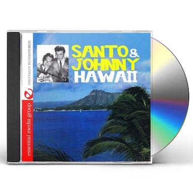 Santo & Johnny HAWAII CD