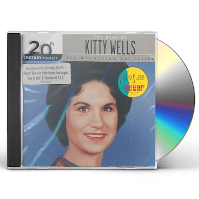 Kitty Wells 20TH CENTURY MASTERS: MILLENIUM COLLECTION CD