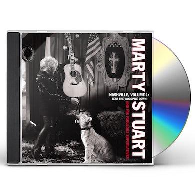 Marty Stuart NASHVILLE 1: TEAR THE WOODPILE CD