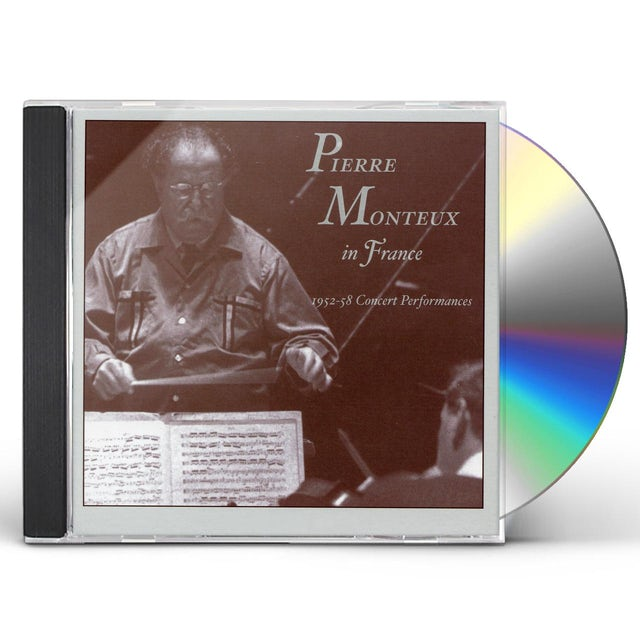 Pierre Monteux IN FRANCE 1952-1958 CONCERTS CD