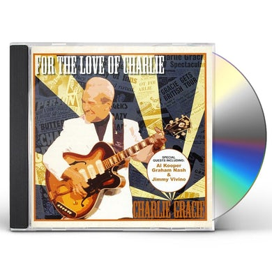 Charlie Gracie FOR THE LOVE OF CHARLIE CD