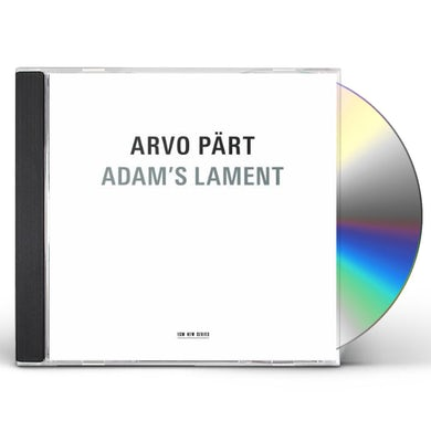 Arvo Part ADAM'S LAMENT CD