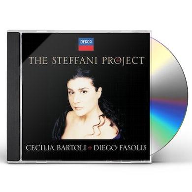 Cecilia Bartoli STEFFANI PROJECT CD