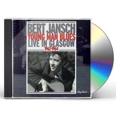 Bert Jansch YOUNG MAN BLUES: LIVE IN GLASGOW 1962-64 CD
