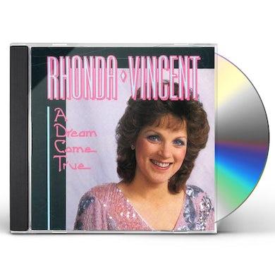 Rhonda Vincent DREAM COME TRUE CD