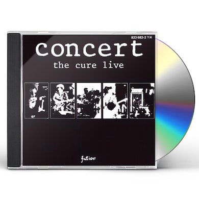 The Cure CONCERT LIVE 1984 CD