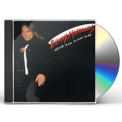 Benny Mardones NEVER RUN NEVER HIDE CD
