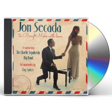 Jon Secada BENY MORE WITH LOVE CD