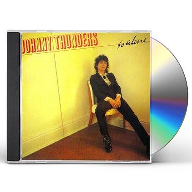 Johnny Thunders SO ALONE CD
