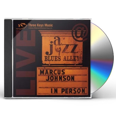 Marcus Johnson IN PERSON: LIVE AT BLUES ALLEY CD