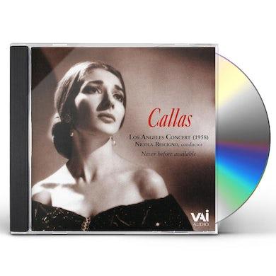 Maria Callas 1958 LOS ANGELES CONCERT CD
