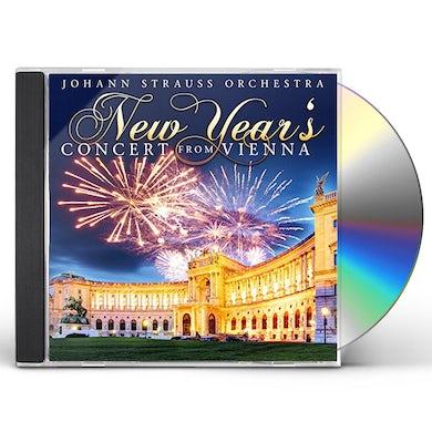 Johann Strauss Orchestra NEW YEAR'S CONCERT FROM VIENNA CD