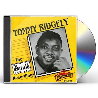 Tommy Ridgley HERALD RECORDINGS CD