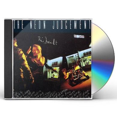 The Neon Judgement INSULT CD