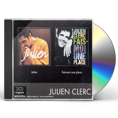 BOXSET (JULIEN CLERC/FAISMOI UNE PLACE) CD