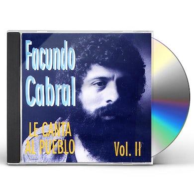 Facundo Cabral CANTA AL PUEBLO 2 CD