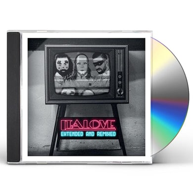 Italove EXTENDED & REMIXED CD