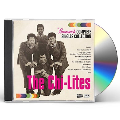 Chi-Lites BRUNSWICK COMPLETE SINGLES A'S & B'S COLLECTION CD