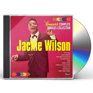 Jackie Wilson BRUNSWICK COMPLETE SINGLES COLLECTION VOL.1 CD