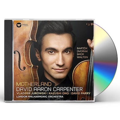 David Aaron Carpenter DVORAK BARTOK WALTON: VIOLA CONCERTO & OTHERS CD