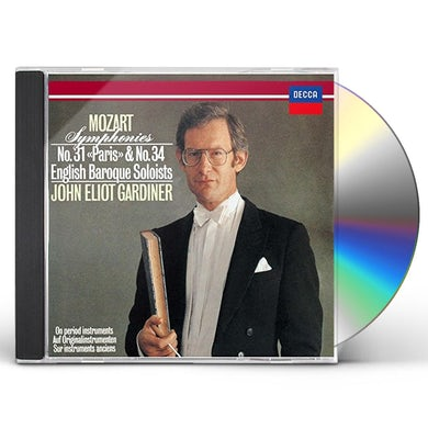 John Eliot Gardiner MOZART: SYMPHONIES NO. 31 & NO. 34 CD