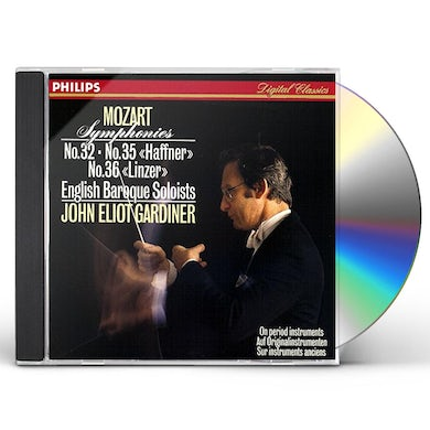 MOZART: SYMPHONIES NO. 32. NO. 35 CD