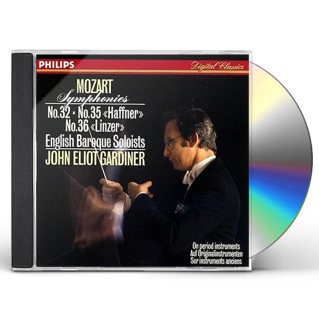 John Eliot Gardiner MOZART: SYMPHONIES NO. 32. NO. 35 CD