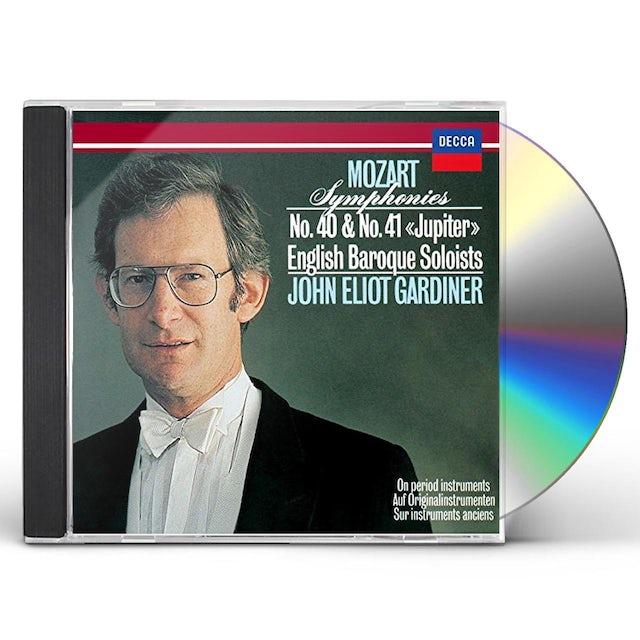 John Eliot Gardiner MOZART: SYMPHONIES NO. 40 & NO. 41 CD