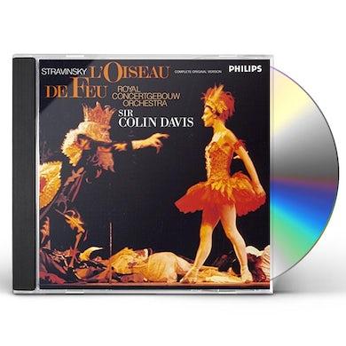 Colin Davis STRAVINSKY: L'OISEAU DE CD