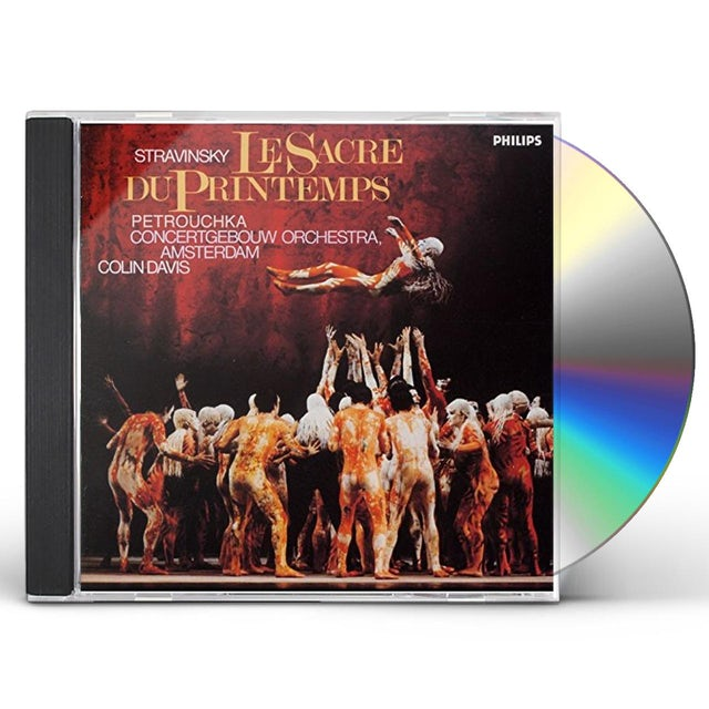 Colin Davis STRAVINSKY: LE SACRE DU PRINTEMPS CD