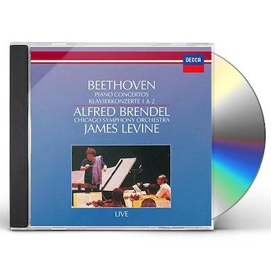 Alfred Brendel BEETHOVEN: PIANO CONCERTOS NO. 1 CD