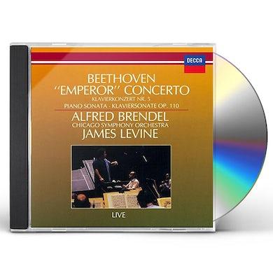 Alfred Brendel BEETHOVEN: PIANO CONCERTO NO. 5. CD