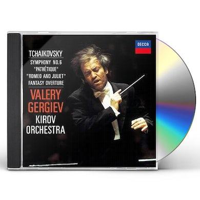 Valery Gergiev TCHAIKOVSKY: SYMPHONY NO. 6 'PATHET CD
