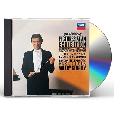 Valery Gergiev MOUSSORGSKY: PICTURES AT AN EXIHIBIT CD