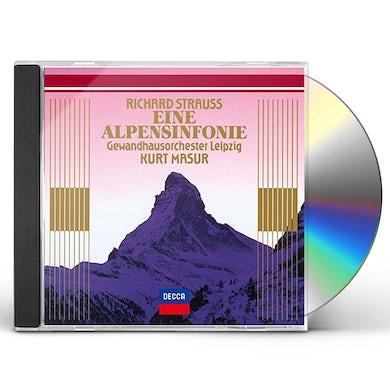 Kurt Masur R. STRAUSS: EINE ALPENSINFONIE CD