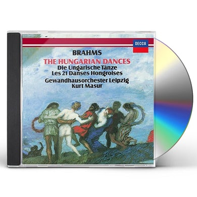 Kurt Masur BRAHMS: HUNGARIAN DANCES CD