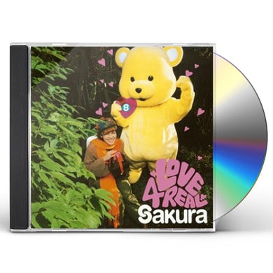 sakura LOVE 4 REAL CD