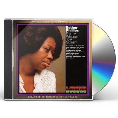 Esther Phillips FROM A WHISPER TO A SCREAM:EXPANDED EDITION CD