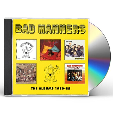 Bad Manners ALBUMS 1980-1985 CD