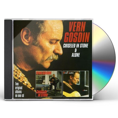 Vern Gosdin CHISELED IN STONE / ALONE CD