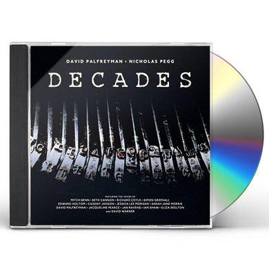 David Palfreyman / Nicholas Pegg DECADES CD