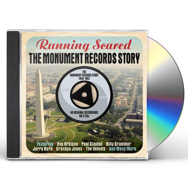 Running Scared MONUMENT RECORDS STORY 1958-62 CD
