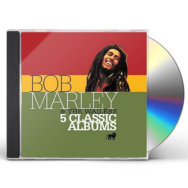 Bob Marley 5 CLASSIC ALBUMS CD