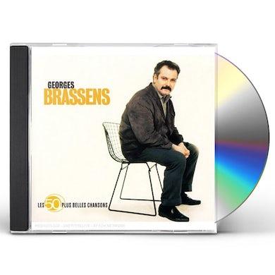 Georges Brassens LES 50 PLUS BELLES CHANSONS CD