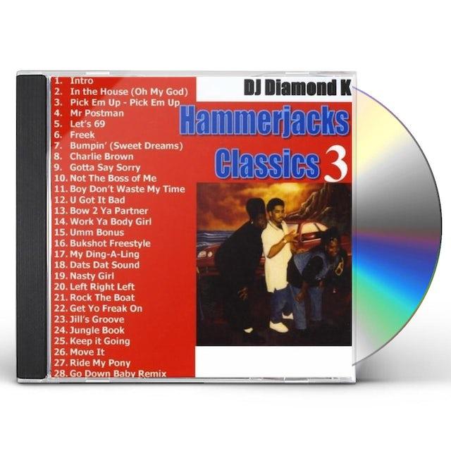 Diamond K HAMMERJACKS CLASSICS PT. 3 CD