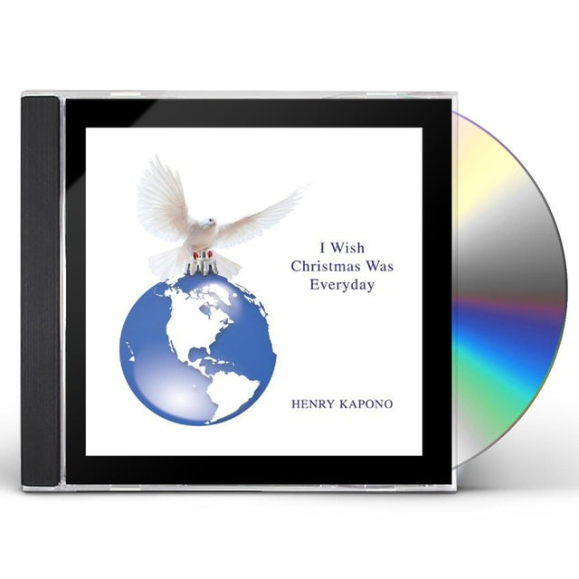Henry Kapono I WISH CHRISTMAS WAS EVERYDAY CD