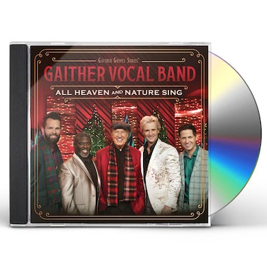 Gaither Vocal Band ALL HEAVEN & NATURE SING CD
