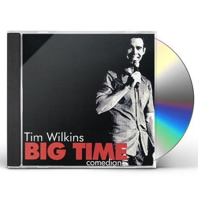 Tim Wilkins BIG TIME COMEDIAN CD