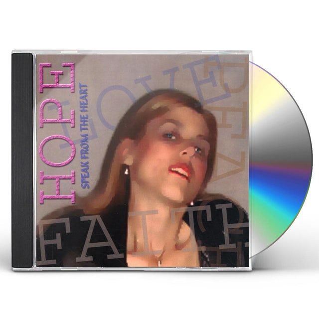 Hope SPEAK FROM THE HEART CD